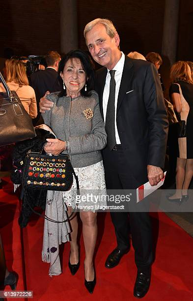 Regine Sixt and Dieter Hermann during the Prix Courage Award on October 11 2016 in Munich Germany