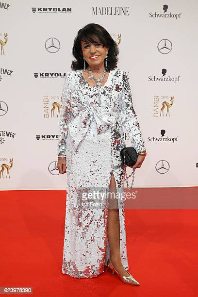 Regine Sixt arrives at the Bambi Awards 2016 at Stage Theater on November 17 2016 in Berlin Germany