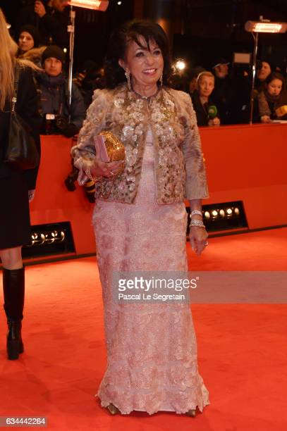 Regine Sixt attends the 'Django' premiere during the 67th Berlinale International Film Festival Berlin at Berlinale Palace on February 9 2017 in...