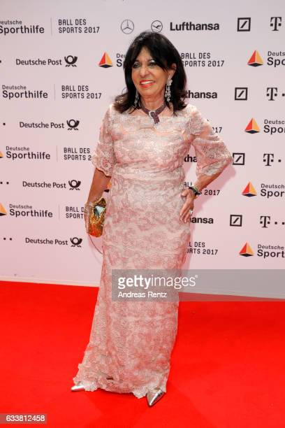 Regine Sixt attends the German Sports Gala 'Ball des Sports 2017' on February 4 2017 in Wiesbaden Germany