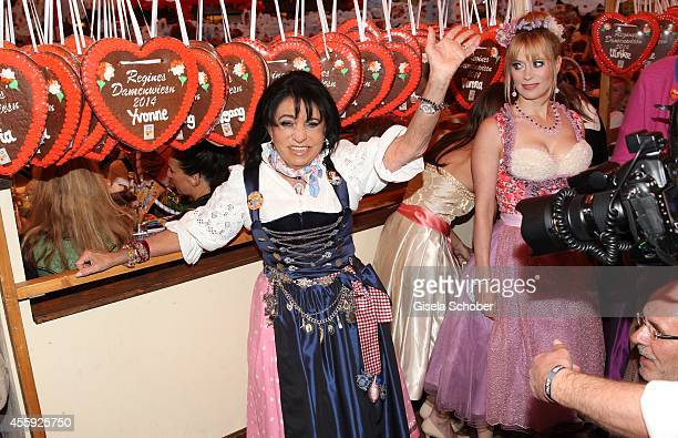 Regine Sixt attends the 'Sixt Damen Wiesn' at Marstall tent during Oktoberfest at Theresienwiese on September 22 2014 in Munich Germany