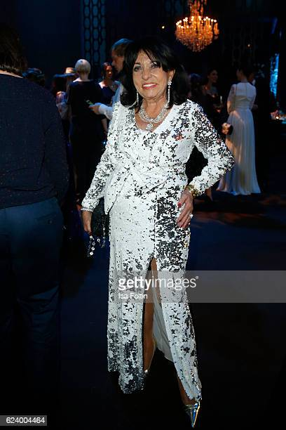 Regine Sixt poses at the Bambi Awards 2016 party at Atrium Tower on November 17 2016 in Berlin Germany