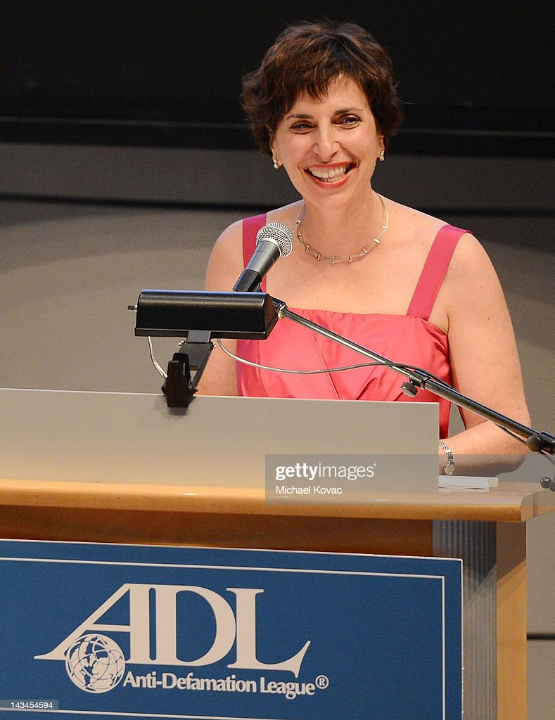 Regional Director Amanda Susskind presents onstage at The Anti-Defamation League Deborah Awards at the Skirball Cultural Center on April 26, 2012 in Los Angeles, California.