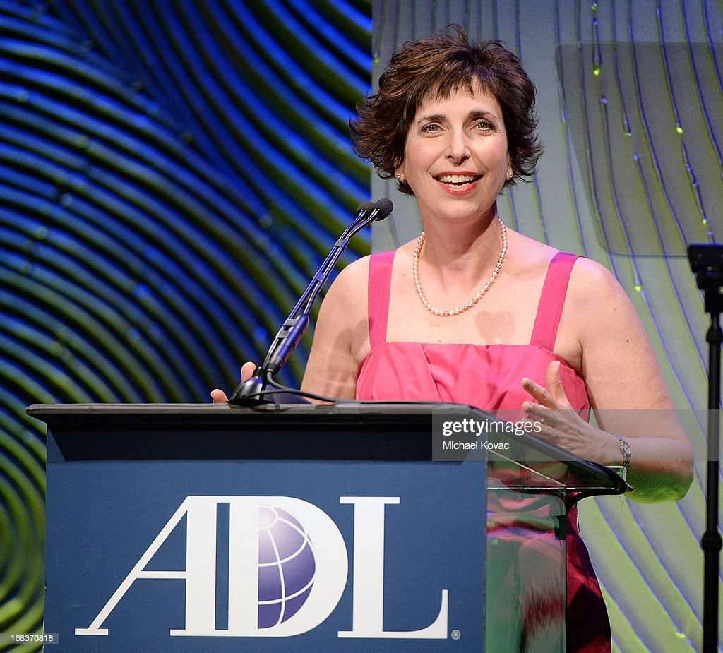 Regional Director Amanda Susskind presents onstage at the Anti-Defamation League Centennial Entertainment Industry Awards Dinner Honoring Jeffrey Katzenberg at The Beverly Hilton Hotel on May 8, 2013 in Beverly Hills, California.