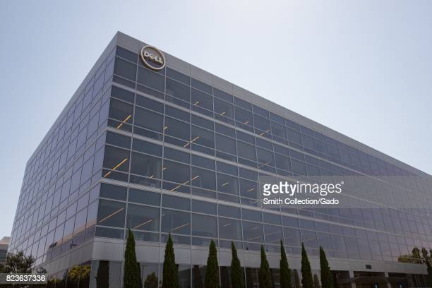 Regional headquarters with logo and signage for Dell Computers in the Silicon Valley town of Santa Clara California July 25 2017