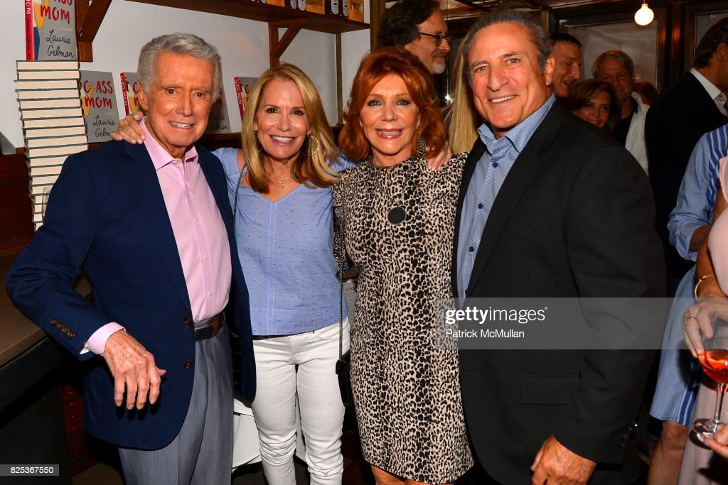 Regis Philbin, Amy Rosenblum, Joy Philbin and Daniel Berg attend Michael Gelman Celebrates The Launch Of CLASS MOM, A Novel By Laurie Gelman at Loi Estiatorio on July 26, 2017 in New York City.