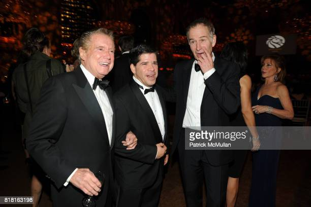 Regis Philbin and John McEnroe attend The 2010 LIBRARY LIONS GALA at The New York Public Library on November 1 2010 in New York City
