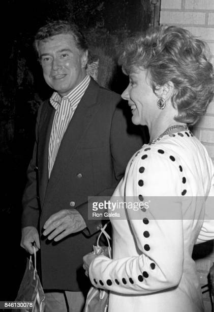 Regis Philbin and Joy Philbin attend 'Midnight Run' Premiere on July 11 1988 at the Sutton Theater in New York City