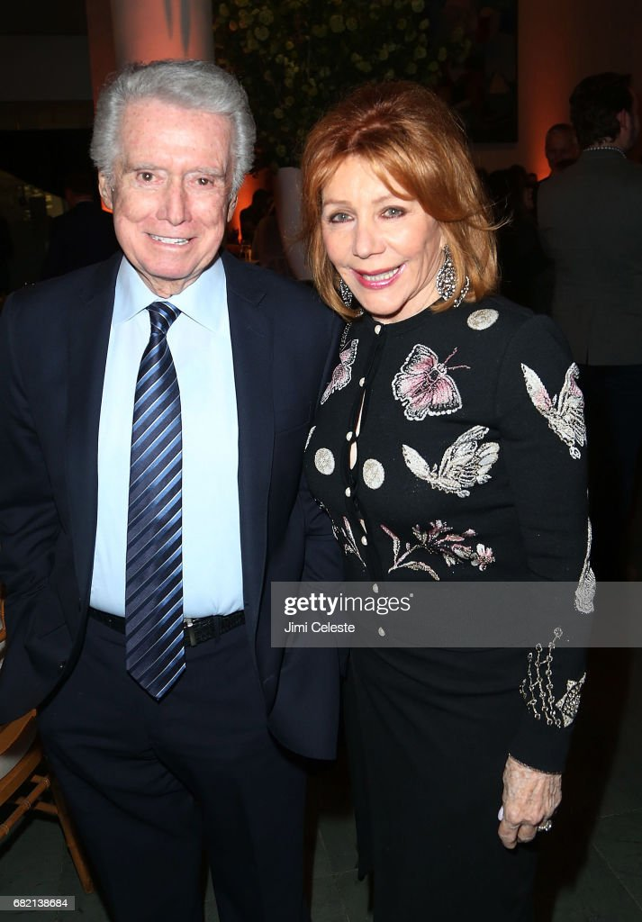 Regis Philbin and Joy Philbin attend the after party for 'The Wizard of Lies' New York premiere at The Museum of Modern Art on May 11, 2017 in New York City.