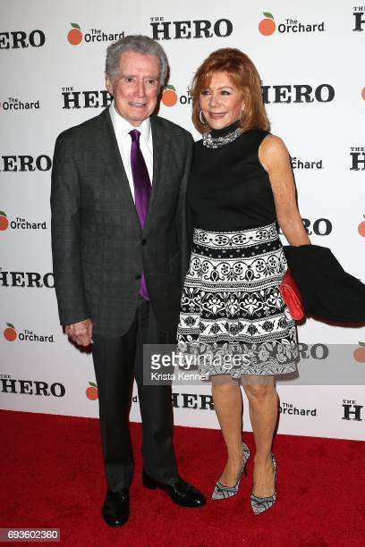 Regis Philbin and Joy Philbin attend 'The Hero' New York Premiere at the Whitby Hotel on June 7 2017 in New York City