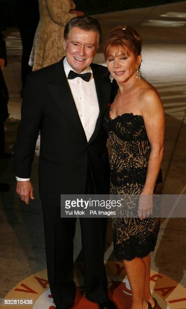 Regis Philbin arrives for the annual Vanity Fair Party at Mortons Restaurant Los Angeles