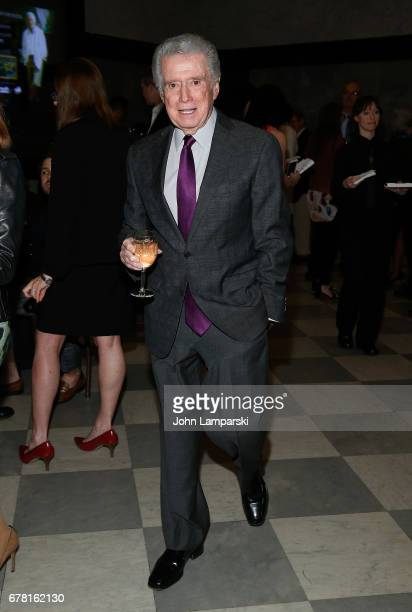 Regis Philbin as Tony Bennett celebrate 90 Years of artistry original artwork classic TV performances VIP opening reception at The Paley Center for...