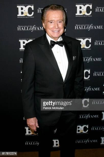 Regis Philbin attends 20th Annual BROADCASTING and CABLE HALL OF FAME Gala at Waldorf Astoria on October 27 2010 in New York City