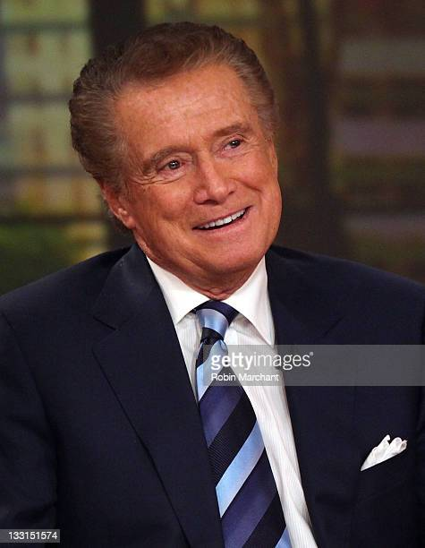 Regis Philbin attends a press conference on his departure from 'Live with Regis and Kelly' at ABC Studios on November 17 2011 in New York City