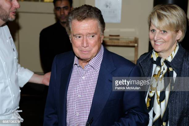 Regis Philbin attends A PRIVATE DINNER for the Sneak Screening of FOOD INC at L'Ecole on June 9 2009 in New York City