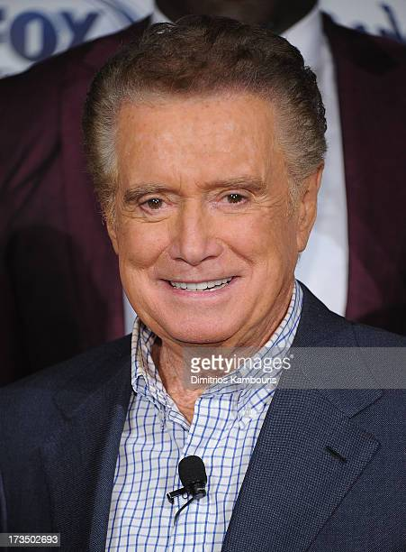 Regis Philbin attends 'Crowd Goes Wld' Press Preview at Lounge 48 on July 15 2013 in New York City