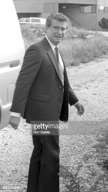 Regis Philbin attends Frank GiffordKathie Lee Johnson Wedding Reception on October 18 1986 in Bridgehampton New York