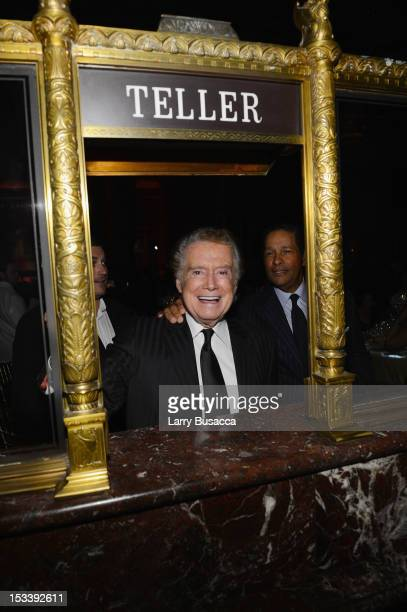 Regis Philbin attends the 6Th Annual Exploring the Arts Gala hosted by Tony Bennett and Susan Benedetto at Cipriani 42nd Street on October 4 2012 in...