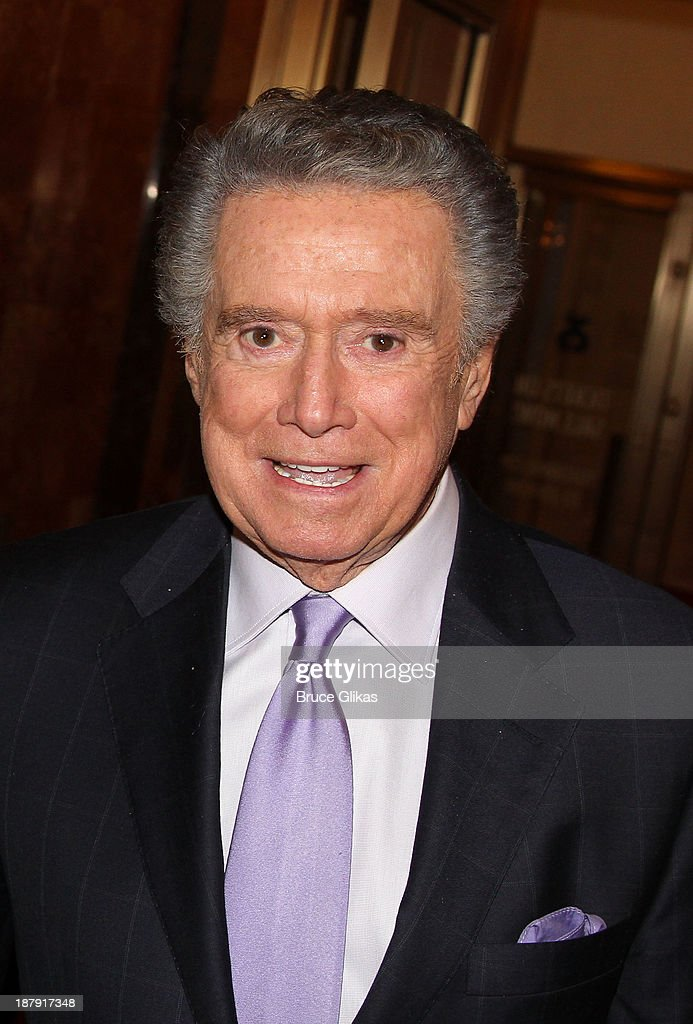 <a gi-track='captionPersonalityLinkClicked' href=/galleries/search?phrase=Regis+Philbin&family=editorial&specificpeople=202495 ng-click='$event.stopPropagation()'>Regis Philbin</a> attends the '700 Sundays' welcome back to Broadway at the Imperial Theatre on November 13, 2013 in New York City.