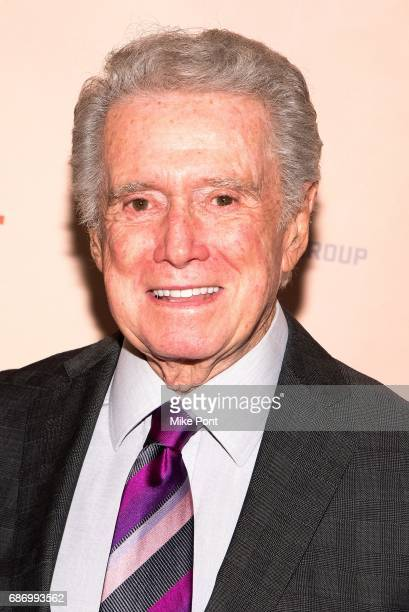 Regis Philbin attends the 'Churchill' New York Premiere at the Whitby Hotel on May 22 2017 in New York City