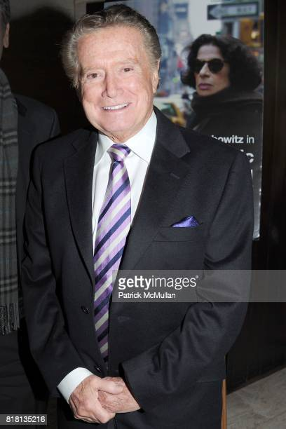 Regis Philbin attends The HBO Documentary Films Premiere of PUBLIC SPEAKING After Party at Four Seasons Restaurant on November 15 2010 in New York...