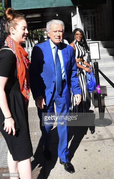 Regis Philbin is seen outside wendy williams show on September 28 2017 in New York City