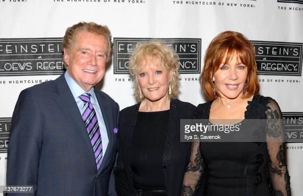 Regis Philbin Petula Clark and Joy Philbin attend the Feinstein's at Loews Regency Ballroom on January 24 2012 in New York City
