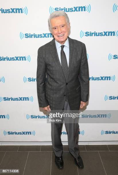Regis Philbin visits at SiriusXM Studios on October 3 2017 in New York City