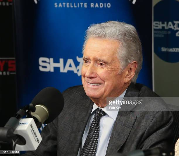 Regis Philbin visits 'Sway in the Morning' at SiriusXM Studios on October 3 2017 in New York City