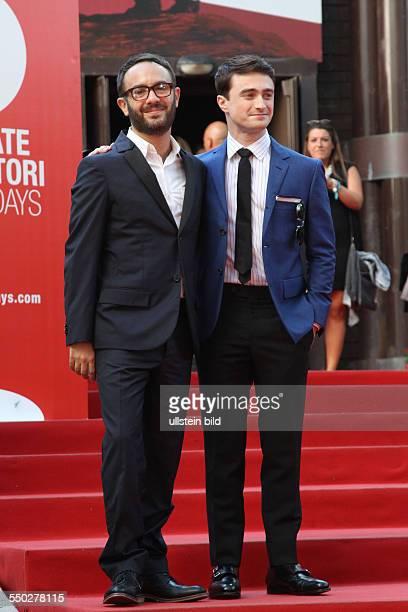 Regisseur John Krokidas und Schauspieler Daniel Radcliffe bei der Premiere von KILL YOUR DARLINGS anlässlich der 70 Internationalen Filmfestspiele...