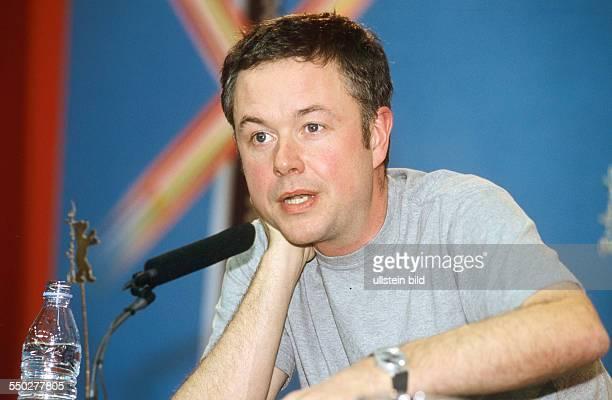 Regisseur Michael Winterbottom während einer Pressekonferenz anlässlich der 51 Internationalen Filmfestspiele in Berlin