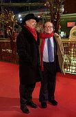 Regisseur Sidney Lumet mit BerlinaleLeiter Dieter Kosslick während der Präsentation des Films Find Me Guilty auf den 56 Internationalen...