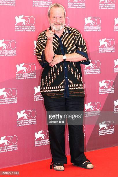 Regisseur Terry Gilliam während des Photocalls zum Film THE ZERO THEOREM anlässlich der 70 Internationalen Filmfestspiele von Venedig