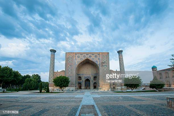 Registan in Samarkand at early morning