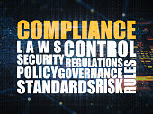 Regulatory Compliance digital concept