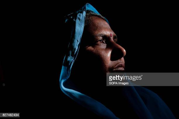 ALWAR RAJASTHAN ALWAR RAJASTHAN INDIA Rehabilitated manual scavenger Maya Sangeliya looks on inside her house According to United Nation Manual...