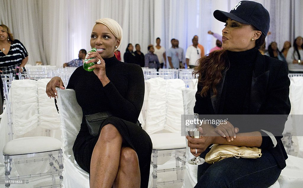 NENE -- 'Rehearsal Dinner' -- Pictured: (l-r) <a gi-track='captionPersonalityLinkClicked' href=/galleries/search?phrase=NeNe+Leakes&family=editorial&specificpeople=5446374 ng-click='$event.stopPropagation()'>NeNe Leakes</a>, <a gi-track='captionPersonalityLinkClicked' href=/galleries/search?phrase=Cynthia+Bailey&family=editorial&specificpeople=3055318 ng-click='$event.stopPropagation()'>Cynthia Bailey</a> --