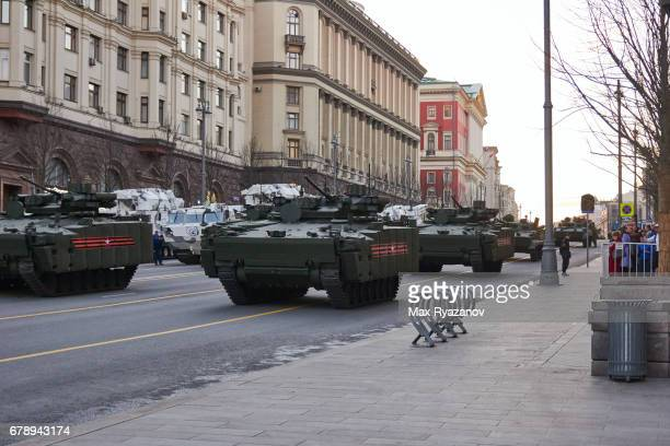 Rehearsal of Moscow Victory Parade