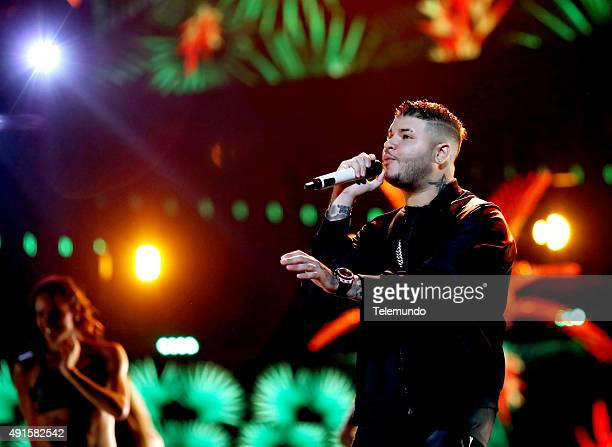 Farruko rehearses for the 2015 Latin American Music Awards at The Dolby Theater in Hollywood CA on October 6 2015 LATIN AMERICAN MUSIC AWARDS 2015...