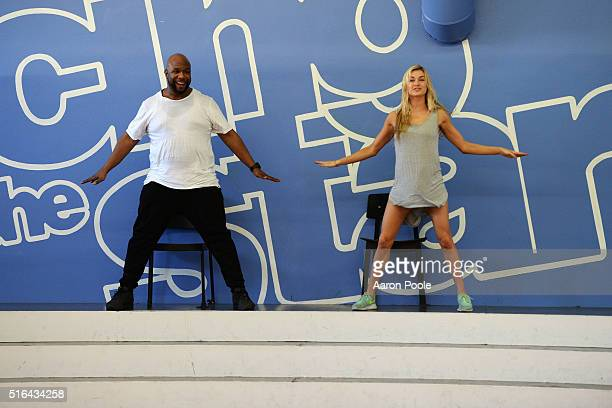 STARS Rehearsals The celebrity cast of 'Dancing with the Stars' is lacing up their ballroom shoes and getting ready for their first dance on MONDAY...