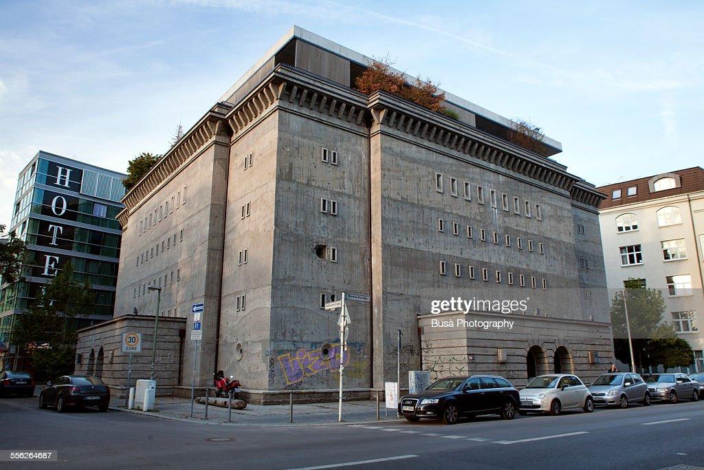 Reichsbahnbunker Friedrichstrasse in Berlin Mitte