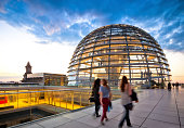 """Outside the Reichstag Dome, Berlin - Germany"""