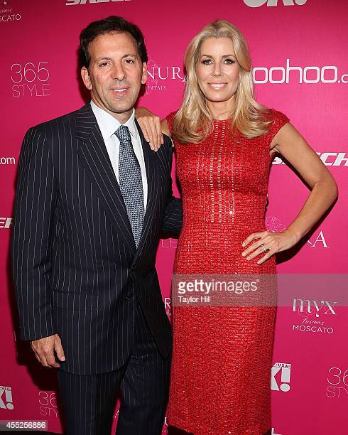 Reid and Aviva Drescher attend OK Magazine's 8th Annual NY Fashion Week Celebration at VIP Room NYC on September 10 2014 in New York City