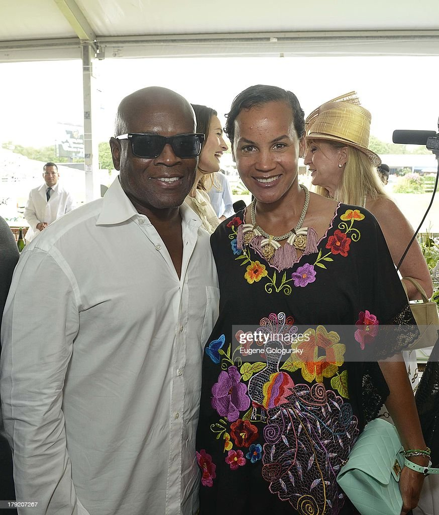 Reid and <a gi-track='captionPersonalityLinkClicked' href=/galleries/search?phrase=Erica+Reid&family=editorial&specificpeople=669935 ng-click='$event.stopPropagation()'>Erica Reid</a> attend the Hamptons Magazine Celebration of Grand Prix Sunday At Hampton Classic on September 1, 2013 in Bridgehampton, New York.