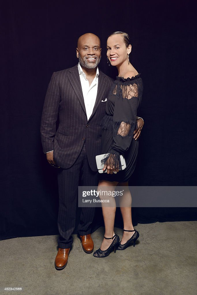 L.A. Reid and wife Erica Reid pose for a portrait at the 2014 Billboard Music Awards on May 18, 2014 in Las Vegas, Nevada.