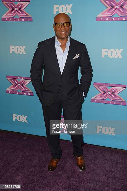 A Reid arrives at Fox's 'The X Factor' Season Finale Night 1 at CBS Television City on December 19 2012 in Los Angeles California