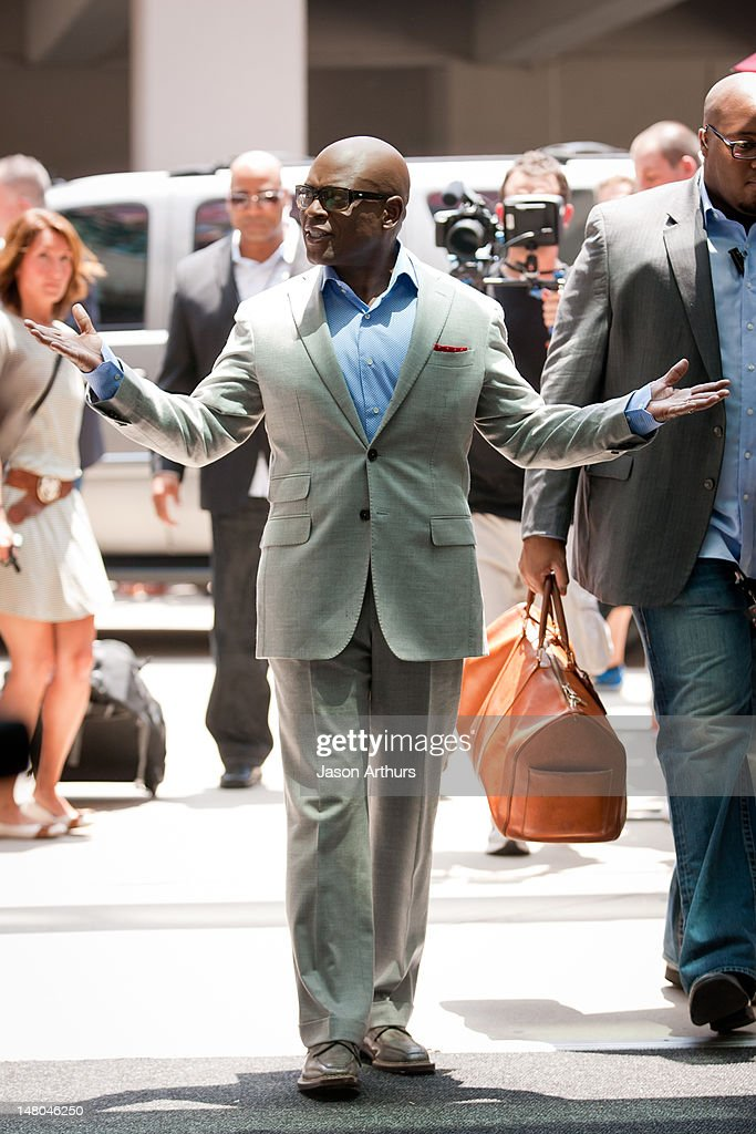 <a gi-track='captionPersonalityLinkClicked' href=/galleries/search?phrase=L.A.+Reid&family=editorial&specificpeople=2546947 ng-click='$event.stopPropagation()'>L.A. Reid</a> arrives at 'The X Factor' Season 2 auditions at the Greensboro Coliseum on July 8, 2012 in Greensboro, North Carolina.