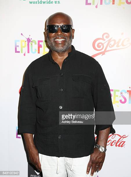 A Reid attends EpicFest 2016 hosted by LA Reid and Epic Records at Sony Studios on June 25 2016 in Los Angeles California at Sony Pictures Studios on...