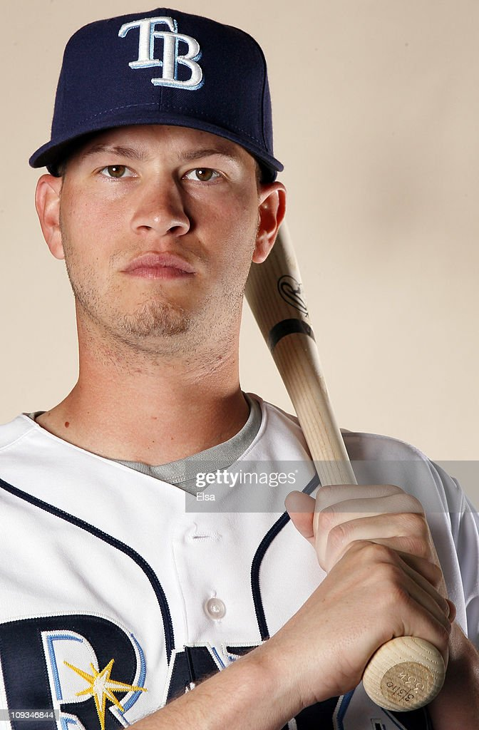 Reid Brignac of the Tampa Bay Rays poses for a portrait during the Tampa Bay Rays Photo Day on February 22 2011 at the Charlotte Sports Complex in...