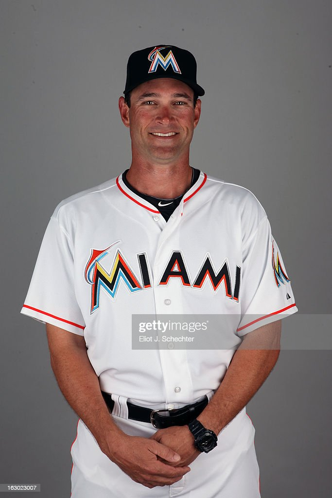 Reid Cornelius #38 of the Miami Marlins poses during Photo Day on Friday, February 22, 2013 at Roger Dean Stadium in Jupiter, Florida.